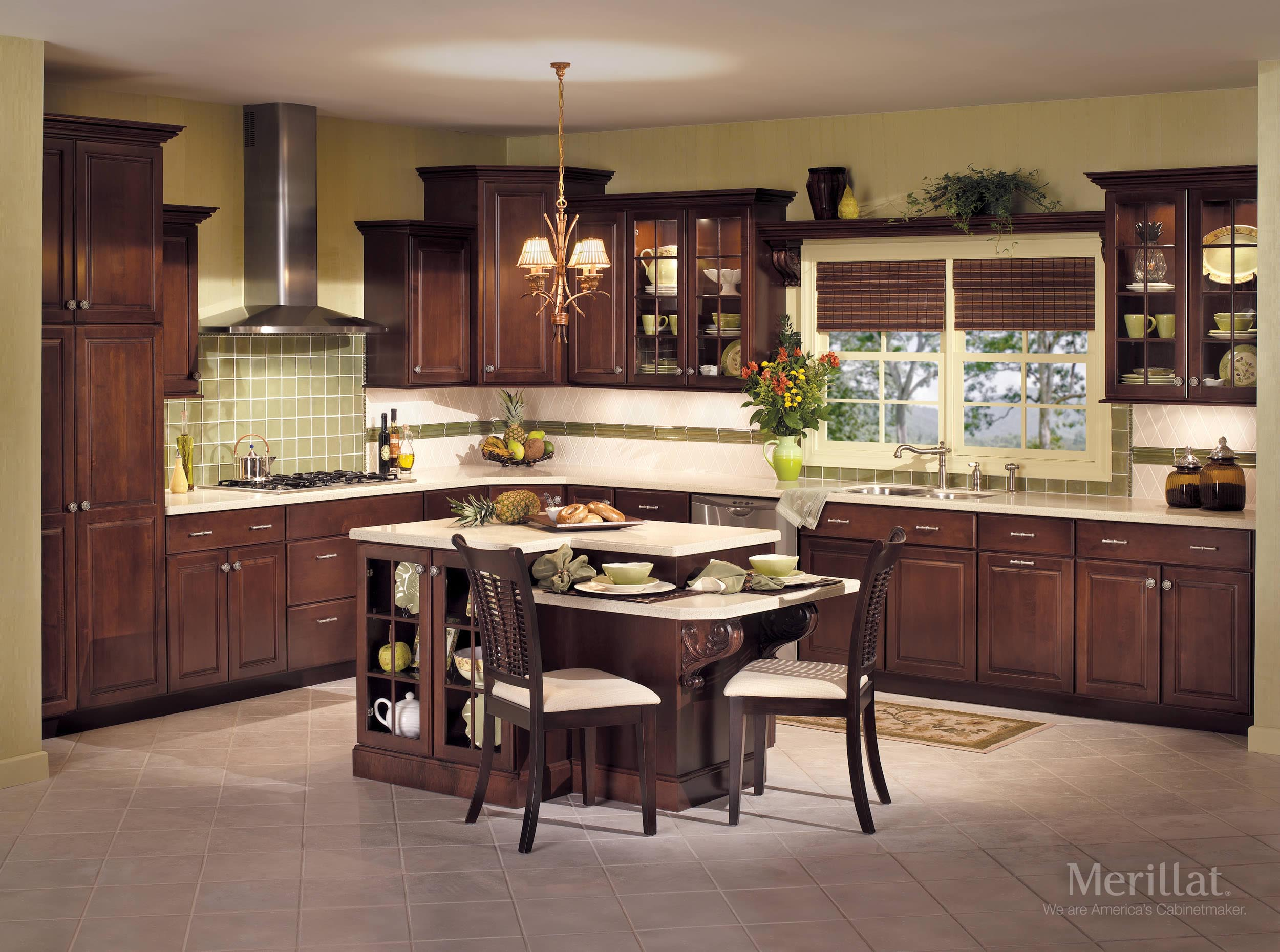 Traditional kitchens el paso kitchen cabinets for Kitchen cabinets el paso tx