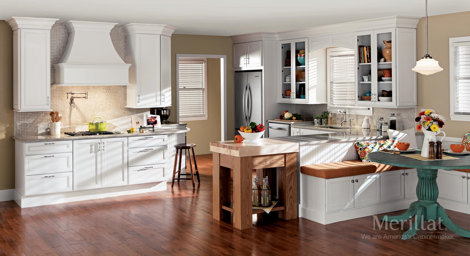 merillat classic bellingham in maple cotton - Merillat Classic Kitchen Cabinets